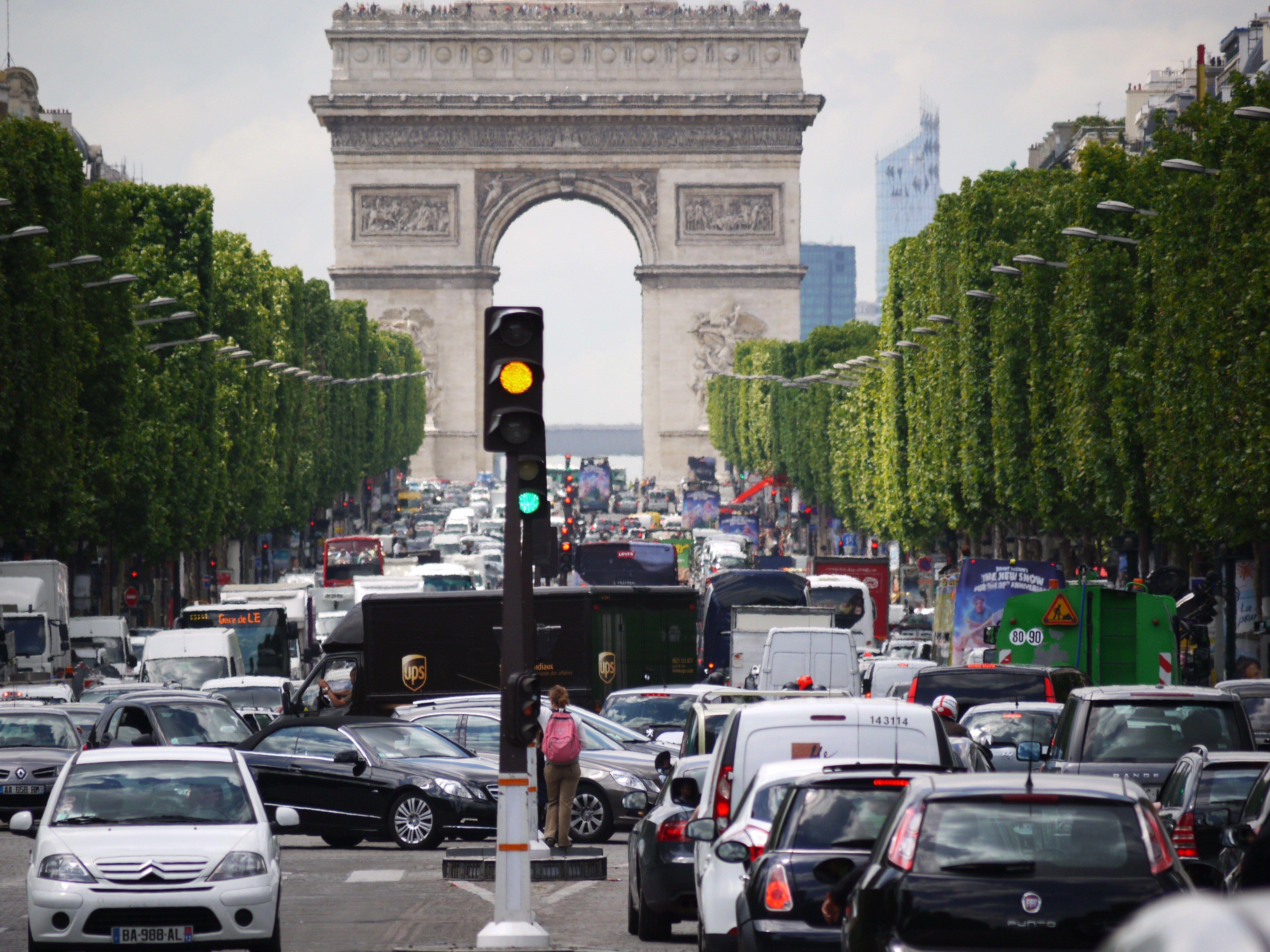 Paris embouteillages