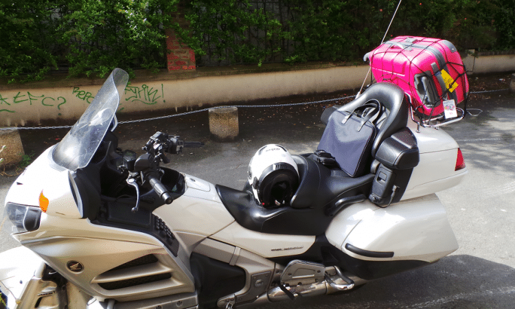 Goldwing avec bagage